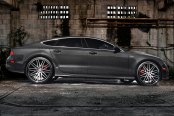 LEXANI® - CVX-44 Black with Machined Face and SS Lip on Audi A7