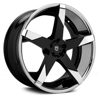 LEXANI® - INVICTUS-Z Gloss Black with Chrome Inserts and SS Lip