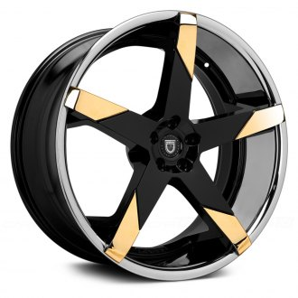 LEXANI® - INVICTUS-Z Gloss Black with Gold Inserts and SS Lip