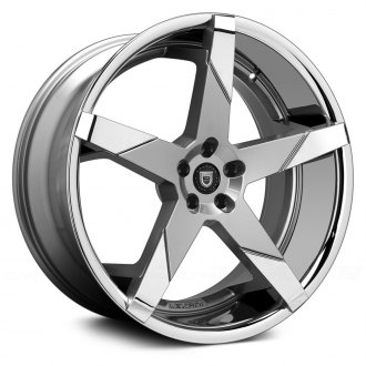 LEXANI® - INVICTUS-Z Gunmetal with Chrome Inserts and SS Lip