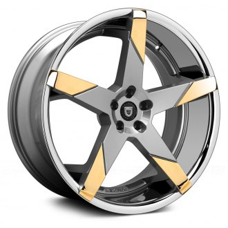 LEXANI® - INVICTUS-Z Gunmetal with Gold Inserts and SS Lip