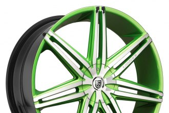 "LEXANI® - JOHNSON II Custom Painted (22"" x 9"", +15 to +45 Offsets, 5x112-139.7 Bolt Patterns, 74.1-110mm Hubs)"
