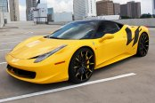 LEXANI FORGED® - 101 ZLT Forging Custom Painted on Ferrari 458