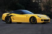LEXANI FORGED® - 101 ZLT Forging Custom Painted on Ferrari 599