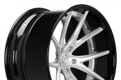 LEXANI FORGED® - 102 Deep Concave Forging Custom Painted - Angle View