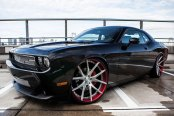 LEXANI FORGED® - 102 ZLT Forging Custom Painted on Dodge Challenger