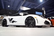 LEXANI FORGED® - 105 ZLT Forging Custom Painted on Lamborghini Gallardo