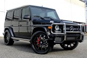 LEXANI FORGED® - 707 Standard Forging Custom Painted on Mercedes G Class