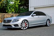 LEXANI FORGED® - 707 Step Forging Custom Painted on Mercedes S Class