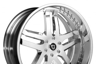 "LEXANI FORGED® - 715 Chrome Standard LF (20"" x 9"", 0 to +45 Offsets, 6x114.3-139.7 Bolt Patterns, 50-120mm Hubs)"