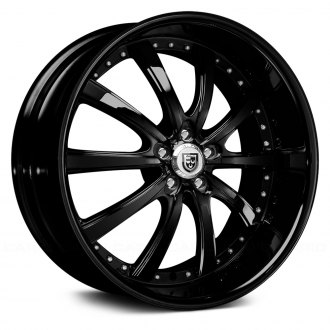 LEXANI® - LSS-10 Gloss Black with Exposed Lugs