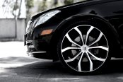 LEXANI® - LUST Black with Machined Face and Groove on Mercedes E Class