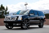 LEXANI® - LUST Custom Painted on Cadillac Escalade ESV