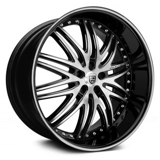 LEXANI� - LX-10 Machined Black with Black Lip