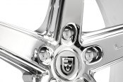 LEXANI® - R-FOUR Chrome with Exposed Lugs Close-Up