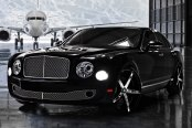 LEXANI® - R-FOUR Custom Painted with Covered Lugs on Bentley Mulsanne