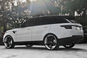 LEXANI® - R-FOUR Custom Painted with Covered Lugs on Land Rover Range Rover
