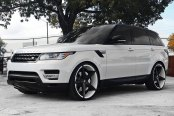 LEXANI® - R-FOUR Custom Painted on Land Rover Range Rover