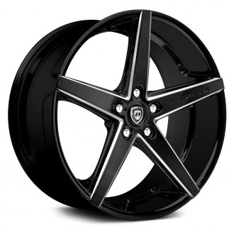LEXANI® - R-FOUR Gloss Black with Machined Accents and Exposed Lugs