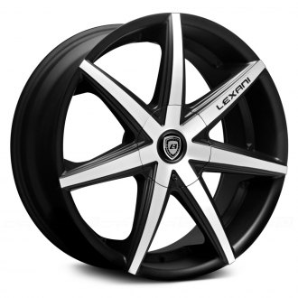 LEXANI® - R-SEVEN Flat Black with Machined Face