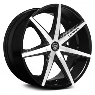 LEXANI® - R-SEVEN Gloss Black with Machined Face