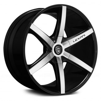 LEXANI® - R-SIX Black with Machined Face