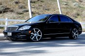 LEXANI® - R-SIX Chrome on Mercedes S550