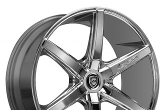 "LEXANI® - R-SIX Chrome (17"" x 7.5"", +40 Offset, 4x100 Bolt Pattern, 73mm Hub)"