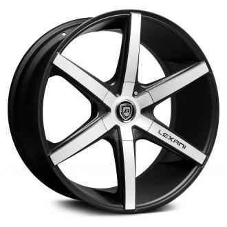 LEXANI® - R-SIX Flat Black with Machined Face
