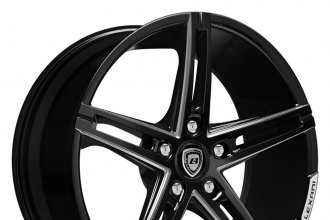 LEXANI® - R-THREE Gloss Black with CNC Machined Grooves
