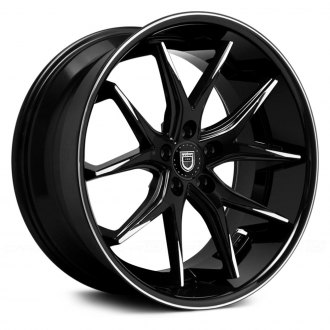 LEXANI® - R-TWELVE Black with Machined Tips