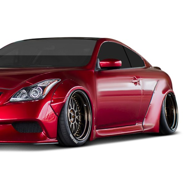 Liberty Walk® - Fiberglass Side Skirts (Unpainted)