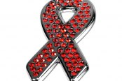 License 2 Bling® - Ribbon with Red Crystals