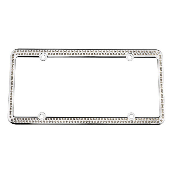 License 2 Bling® - 256 Series Chrome Frame