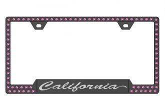 License 2 Bling® - Graphic Series California Print Frame