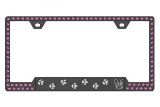 License 2 Bling® - Graphic Series Puppy Print Frame