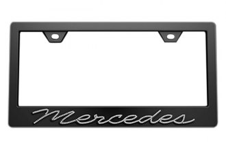 License 2 Bling® - Mercedes Benz Series Frame