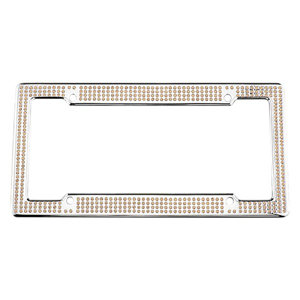 License 2 Bling® - VIP Series Chrome Frame