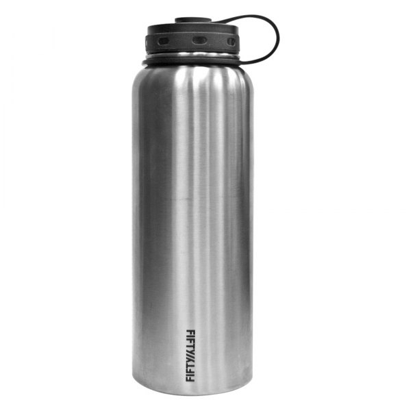 Lifeline® - Double-Wall Style Stainless Steel Stainless Steel Water Bottle, 40 Oz