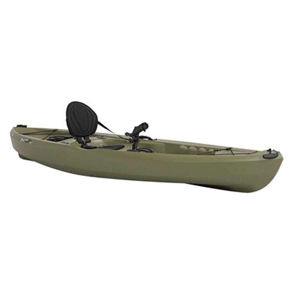 Lifetime 90539 tamarack 10 39 olive sit on top angler for Lifetime fishing kayak