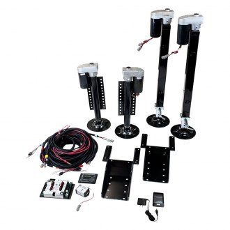 Lippert Components® - Ground Control Fifth-Wheel Kit with Wireless Remote
