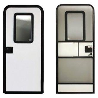 Lippert Components® - Motorized Entry Door  sc 1 st  CARiD.com & RV Entry Doors   Entry Door Locks Holders Windows Hinges u2014 CARiD.com