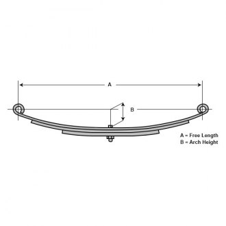 Lippert Components® - Double Eye Leaf Spring