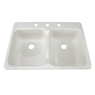 Lippert Components® - 3 Holes Kitchen/Galley Sink