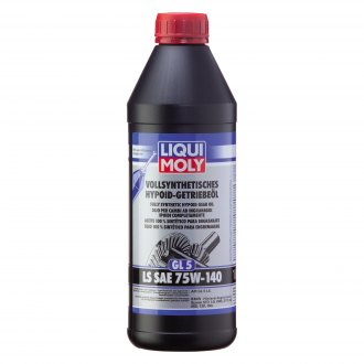 Liqui Moly® - SAE 75W-140 Fully Synthetic Hypoid Gear Oil