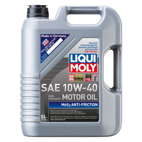 Liqui Moly® - SAE 10W-40 MoS2 Antifriction Motor Oil