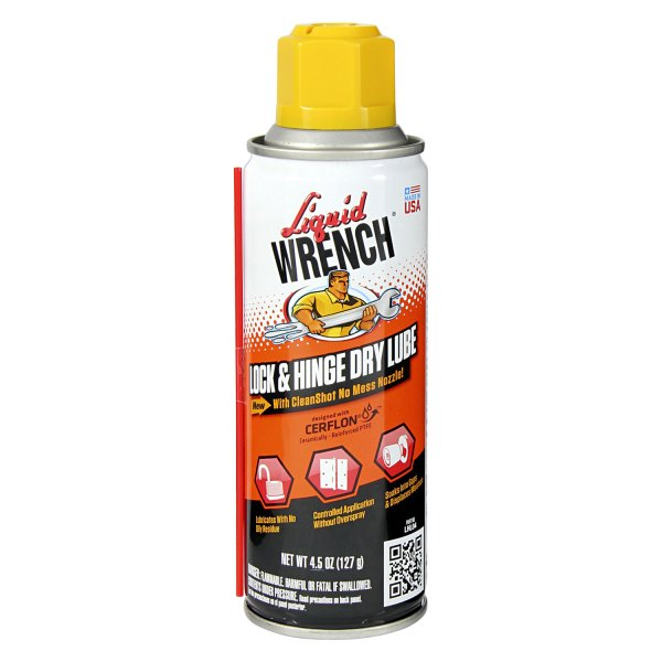 Liquid Wrench® - 4.5 oz. Lock and Hinge Dry Lube