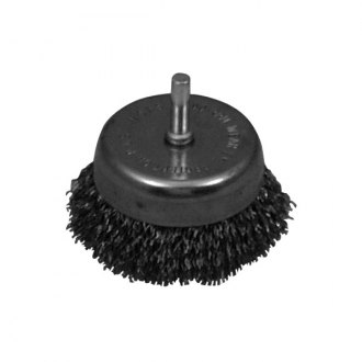 "Lisle® - 2-1/2"" Wire Cup Brush"