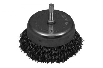 "Lisle® - 2 1/2"" Wire Cup Brush"
