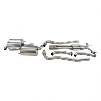 Livernois Motorsports® - Thunderstorm™ 304 SS Cat-Back Exhaust System with Split Rear Exit